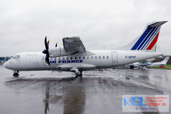 29.12.2011 F-GPYF Airlinair / Air France ATR 42-500 cn495