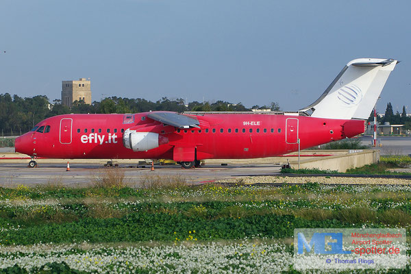 24.12.2013 9H-ELE efly.it BAe 146-300
