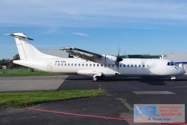 09.11.2014 OY-YAI Mistral Air ATR 72-500 cn879