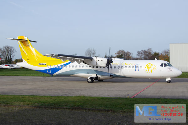 14.11.2015 OY-YAN Express Airways ATR 72-500 cn570