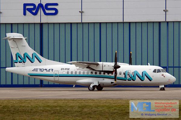 30.09.2009 OY-PCE NAC / Aeromar ATR 42-320 cn257
