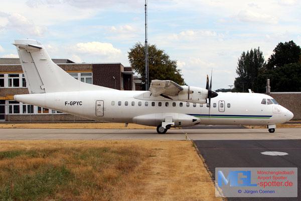 30.07.2018 F-GPYC HOP! / Corporate c/s ATR 42-500 cn484