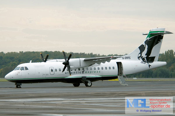 08.10.2008 G-DRFC Atlantic Express ATR 42-300 cn007