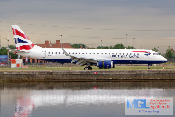 23.06.2014 G-LCYT British Airways Cityflyer ERJ-190SR