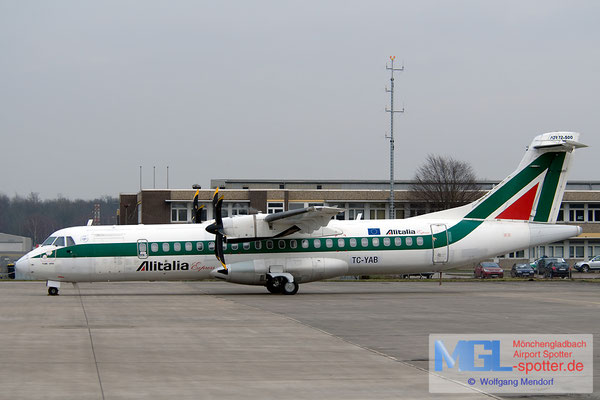 23.01.2010 TC-YAB BoraJet / Alitalia Express ATR 72-500 cn588