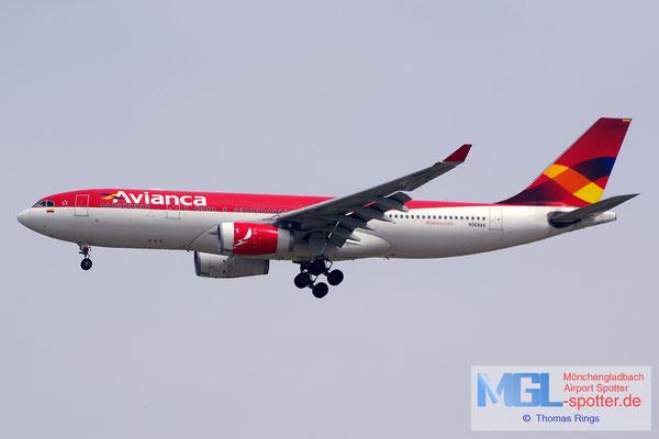 03.04.2015 N968AV Avianca A330-243