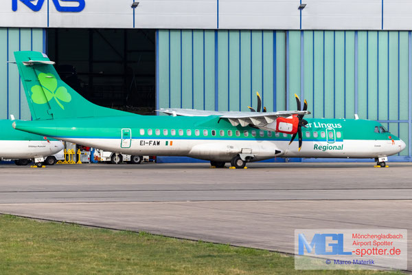07.07.2021 EI-FAW Stobart Air / Aer Lingus Regional ATR 72-600 cn1122