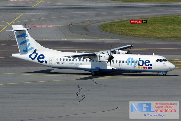 24.07.2014 OH-ATL Flybe Nordic ATR 72-500