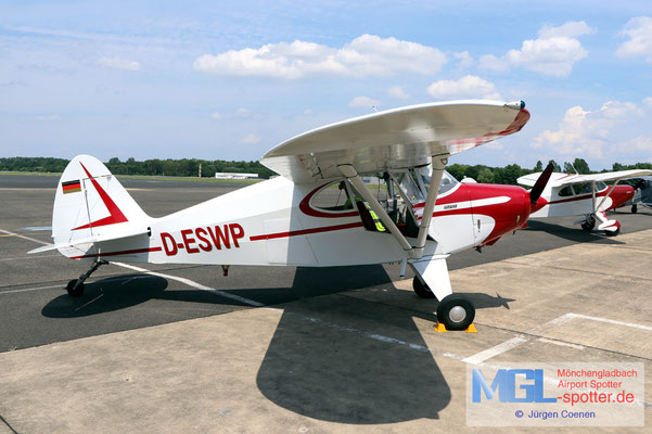 27.06.2021 D-ESWP Piper PA-20-150 Pacer