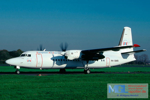 03.2000 PH-DMB Denim Air / European Air Express Fokker F-50