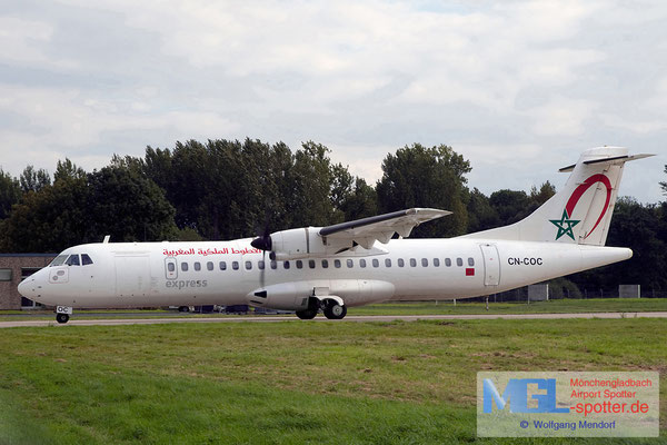 21.09.2011 CN-COC Royal Air Maroc Express ATR 72-202 cn470