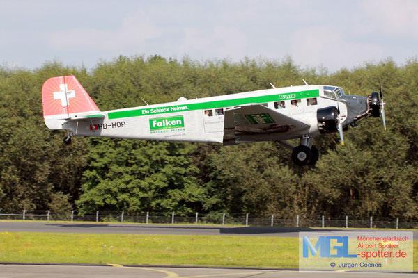 03.09.2017 HB-HOP Ju-Air Junkers JU-52