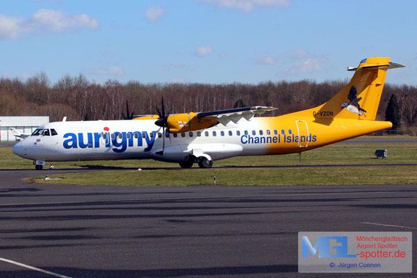 14.03.2018 G-VZON Aurigny Air Services ATR 72-500 cn853