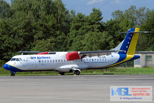 29.08.2015 E7-AAE B&H Airlines ATR 72-212 cn465