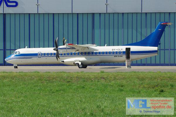 01.05.2013 OY-CLY NAC / (Azerbaijan Airlines) ATR 72-500 cn799