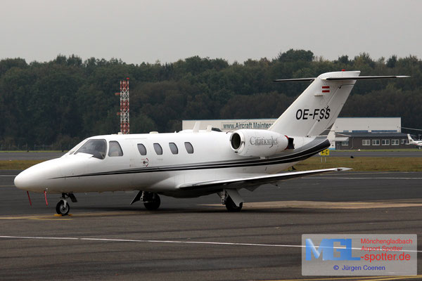21.10.2016 OE-FSS Cessna 525 CitationJet