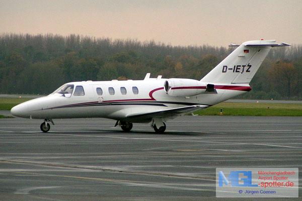 21.11.2005 D-IETZ CESSNA CIT525 CJ1