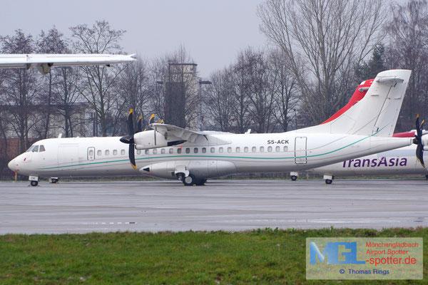 16.12.2018 S5-ACK Aero4M ATR 72-500 cn369