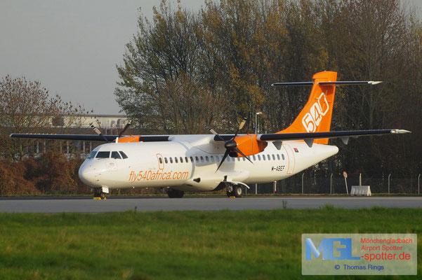 19.11.2011 M-ABEF fly540africa Angola ATR 72-202 cn470