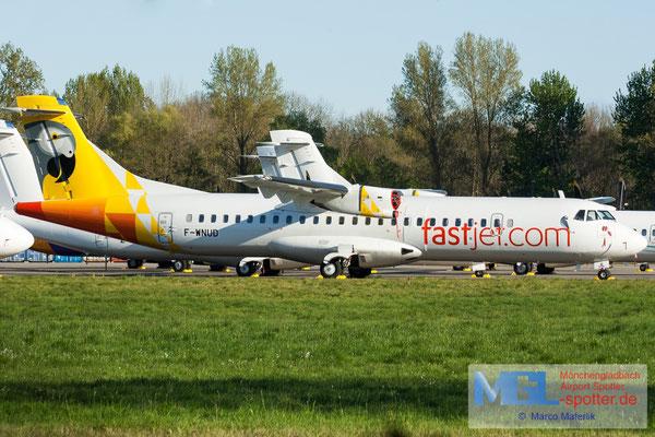 19.04.2019 F-WNUD ATR / Fastjet ATR 72-600 cn1072