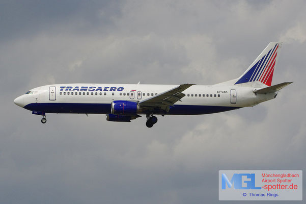 08.08.2012 EI-CXK Transaero B737-4S3