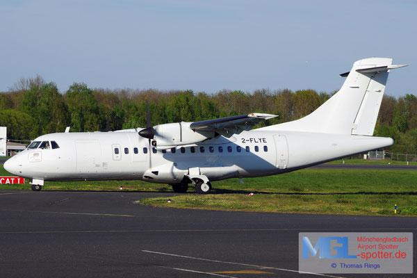 18.04.2019 2-FLYE Airtrails GmbH ATR 42-320 cn378