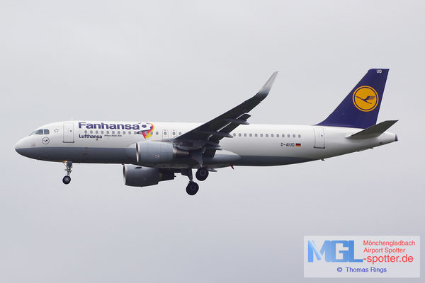 20.06.2014 D-AIUD Lufthansa / Fanhansa A320-214/S