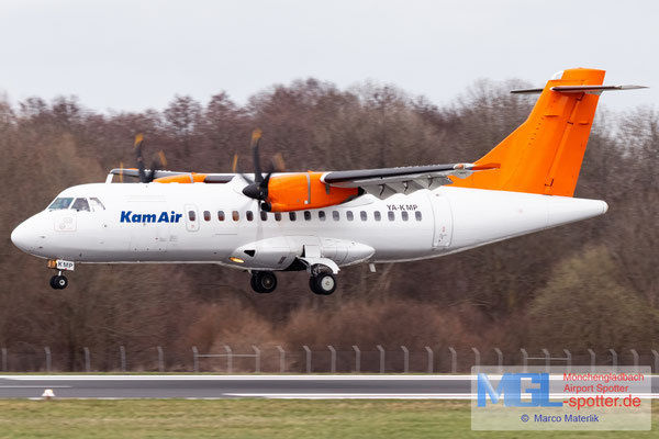 12.03.2021 YA-KMP Kam Air ATR 42-500 cn574