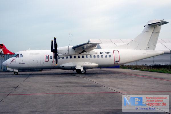 05.12.2015 OY-CHT NAC / Aeronova ATR 42-300 cn080