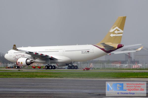30.03.2015 5A-LAU Libyan Airlines A330-202