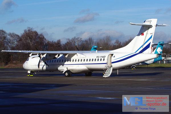 10.01.2014 TC-YAD BoraJet ATR 72-500 cn702