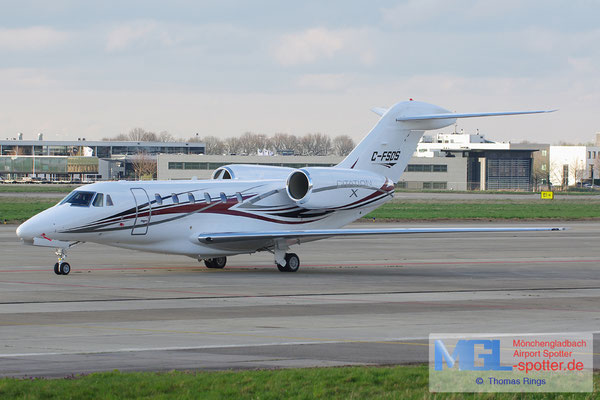21.03.2014 C-FSDS Cessna 750 Citation X