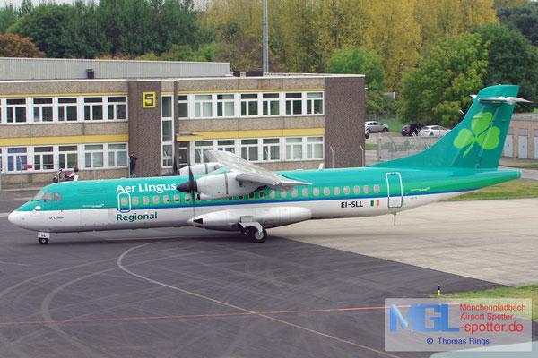 20.10.2012 EI-SLL Aer Arann / Aer Lingus Regional ATR 72-212 cn387