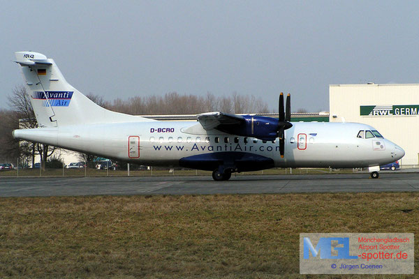 4.03.2006 D-BCRO AVANTIAIR ATR42-300