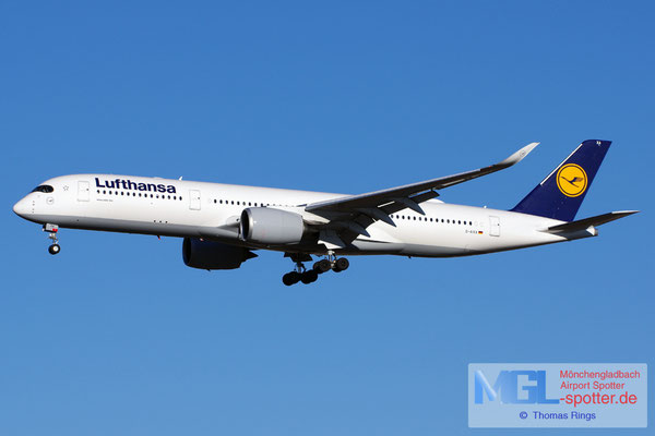 31.12.2016 D-AIXA Lufthansa A350-941