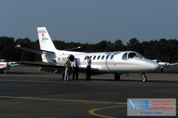 04.09.2005 OK-SLS  AIR SILESIA CESSNA CIT560