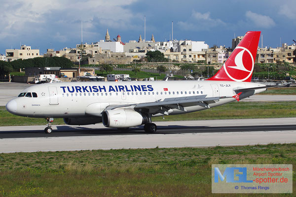 31.12.2013 TC-JLV Turkish Airlines A319-132