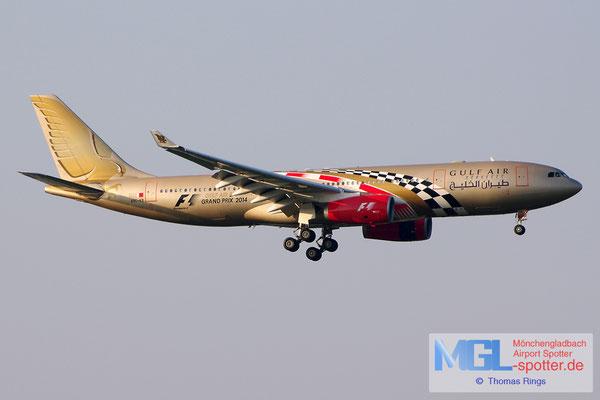 21.06.2014 A9C-KB Gulf Air / Formula 1 Bahrain Grand Prix 2014 A330-243