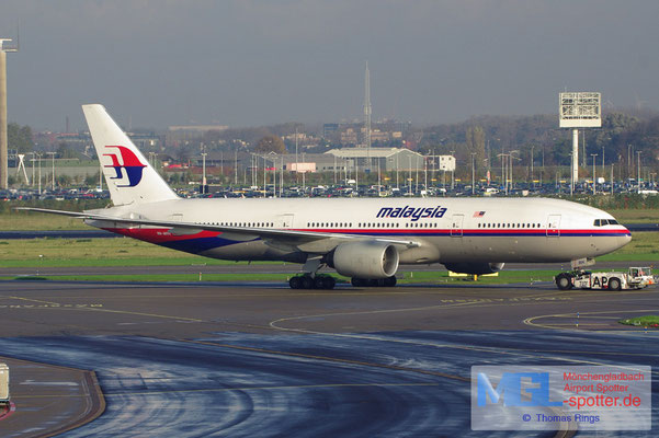 11.11.2012 9M-MRH Malaysia Airlines B777-2H6ER