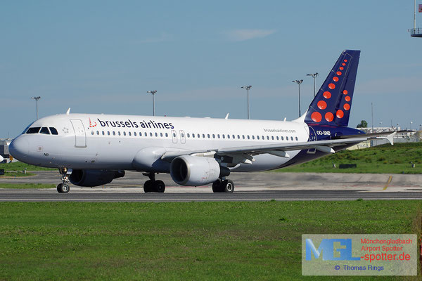 27.10.2013 OO-SNB Brussels Airlines A320-214