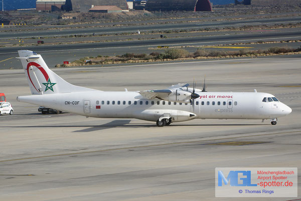 12.07.2014 CN-COF Royal Air Maroc Express ATR 72-600