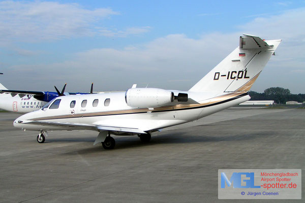 13.10.2004 D-ICOL Cessna 525 CitationJet
