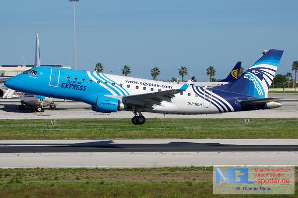 28.12.2013 SU-GDH Egyptair Express ERJ-170LR