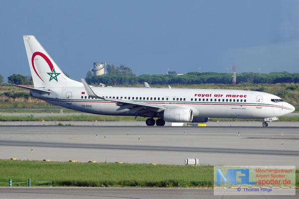 08.10.2014 CN-RNW Royal Air Maroc B737-8B6/W