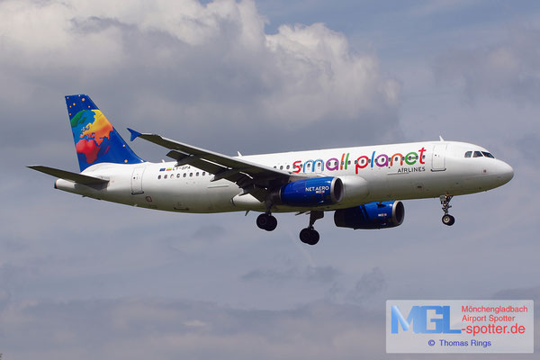 22.06.2014 LY-SPA Small Planet Airlines A320-232