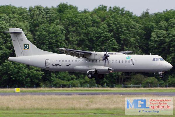 20.06.2016 (AP-) 79 Pakistan Navy ATR 72-500 cn788
