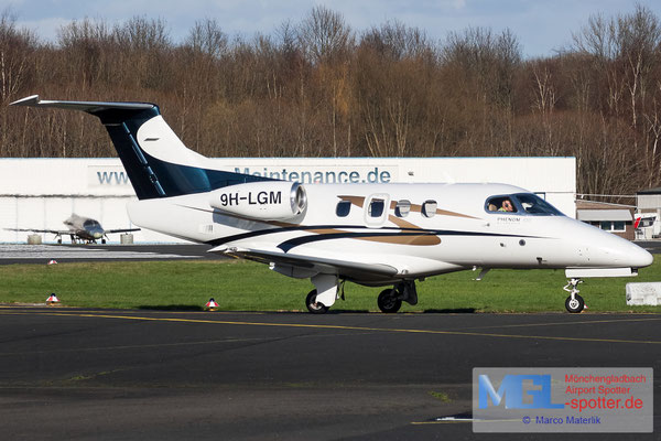 12.03.2020 9H-LGM Luxwing Embraer 500 Phenom 100