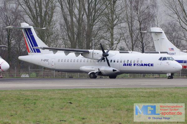 20.02.2013 F-GPOC Airlinair / Air France ATR 72-202QC cn311