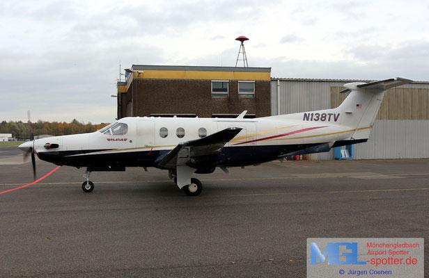 11.11.2019 N138TV Pilatus PC-12/47E