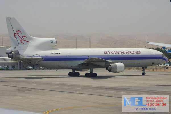 05.08.2010 S2-AET Sky Capital Airlines L-1011-1F Tristar
